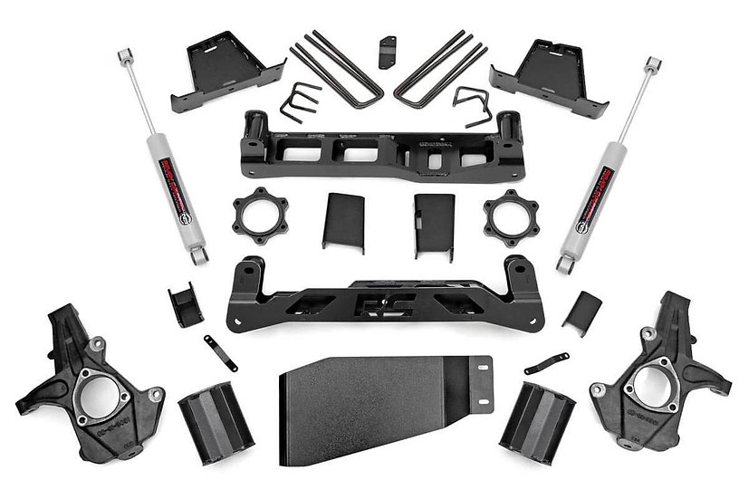 7.5in GM Suspension Lift Kit | Strut Spacer (07-13 1500 PU)