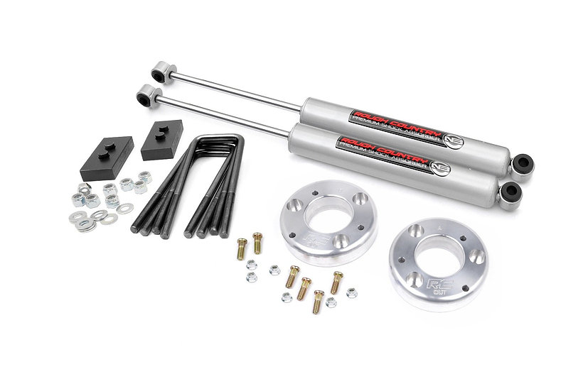 2in Ford Leveling Lift Kit w/N3 Shocks (2021 F-150)