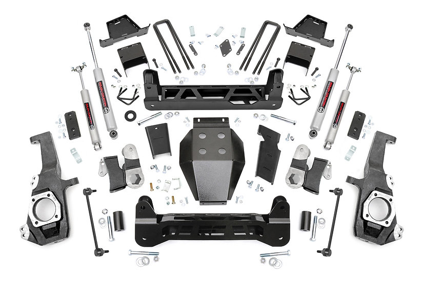 7in GM NTD Suspension Lift Kit (20-21 2500HD)