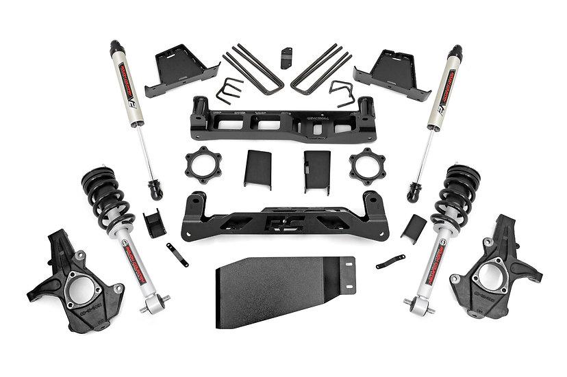 6in GM Suspension Lift Kit w/ N3 Loaded Struts and V2 Shocks