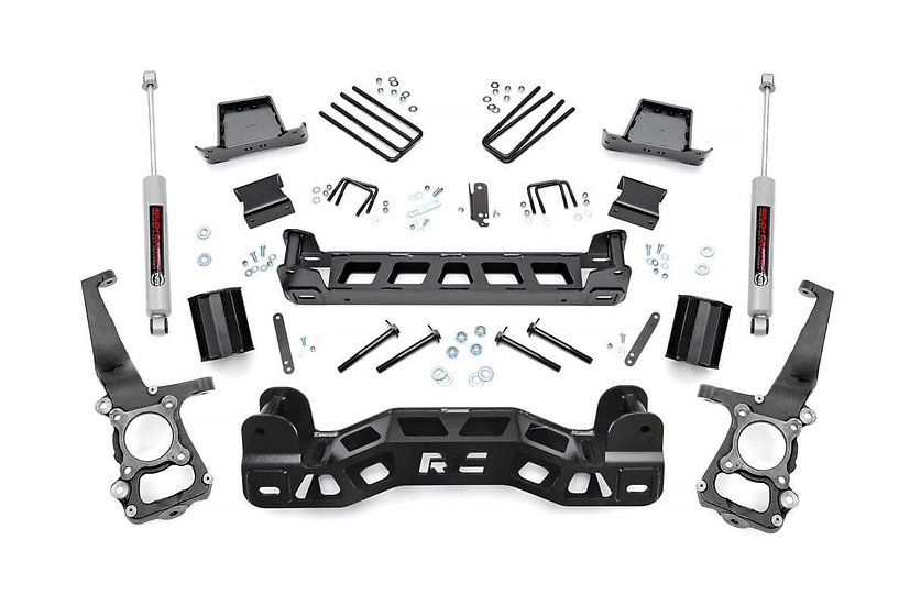 6in Ford Suspension Lift Kit w/ N3 Shocks (09-10 F-150)
