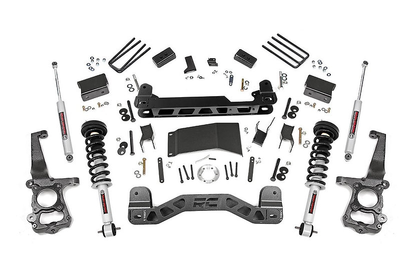 4in Ford Suspension Lift Kit | Lifted Struts (15-20 F-150 4WD)