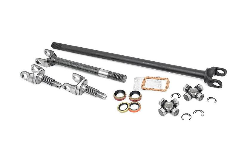 4340 Chromoly Replacement Front Axle Kit - Dana 30, 27 Spline (TJ/YJ/XJ/ZJ)