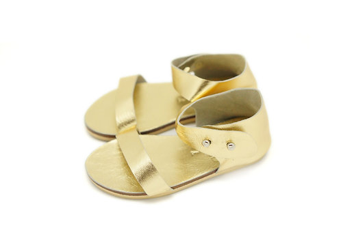 Willow Sandal / Gold