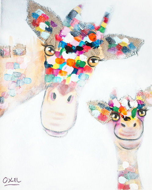 Molly & Milly Giraffes