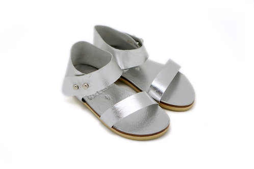 Willow Sandal / silver