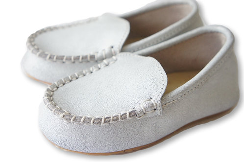 Monaco Loafer | Cracked White
