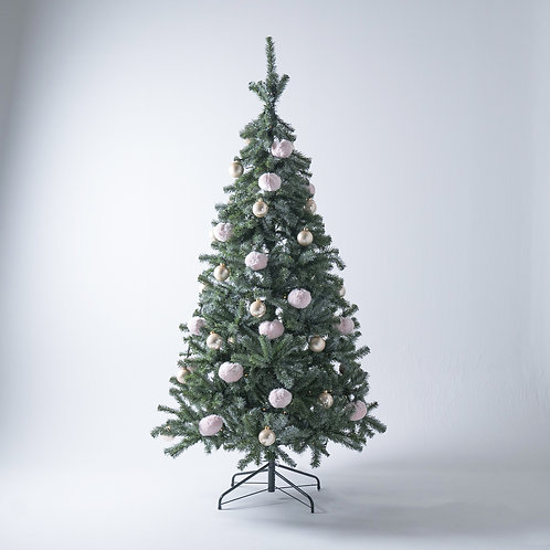 FT210 Fluffy Tree set / Baby pink