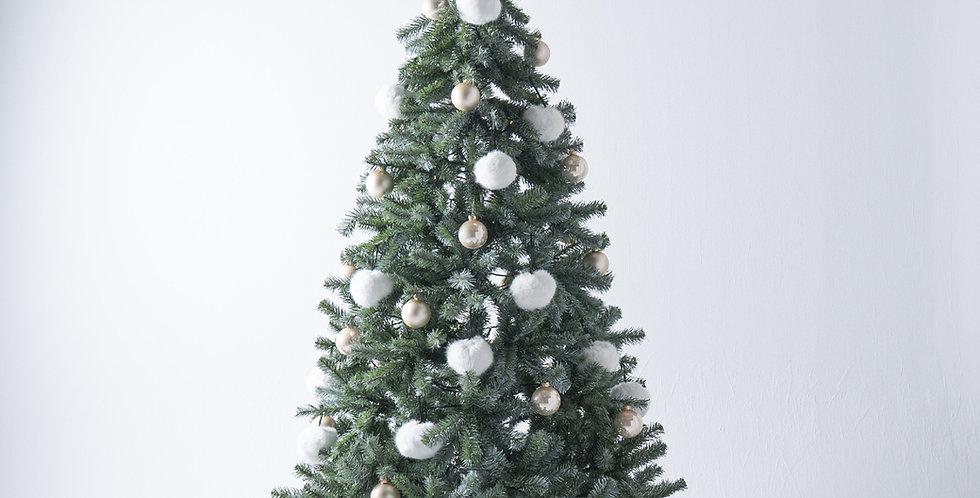 FT210 Fluffy Tree set / Snow white