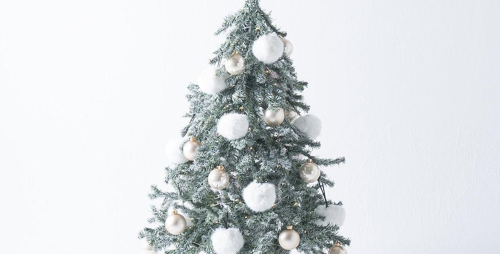 FT150 Fluffy Tree set / Snow white