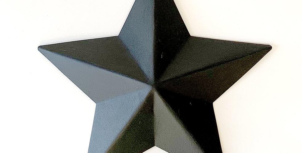 Barn star / Black