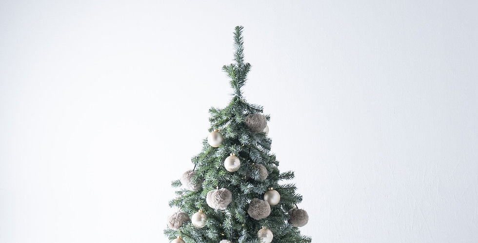 FT120 Fluffy Tree set / Beige