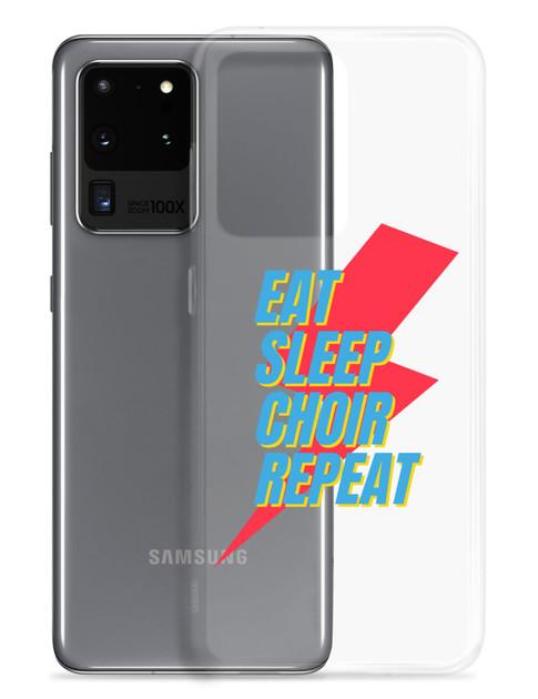 Eat Sleep Choir Repeat Samsung Phone Cases