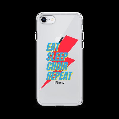 Eat Sleep Choir Repeat - iPhone Case