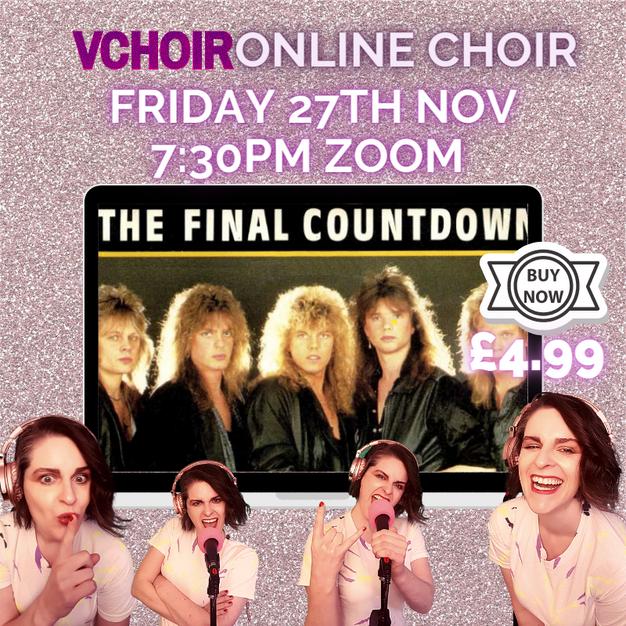 £4.99 Final Countdown Fri 27th Nov