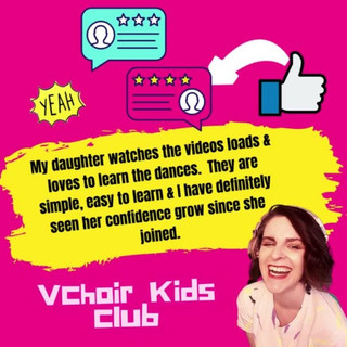 Vchoir kids Club Testimonial