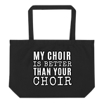choir tote bag present