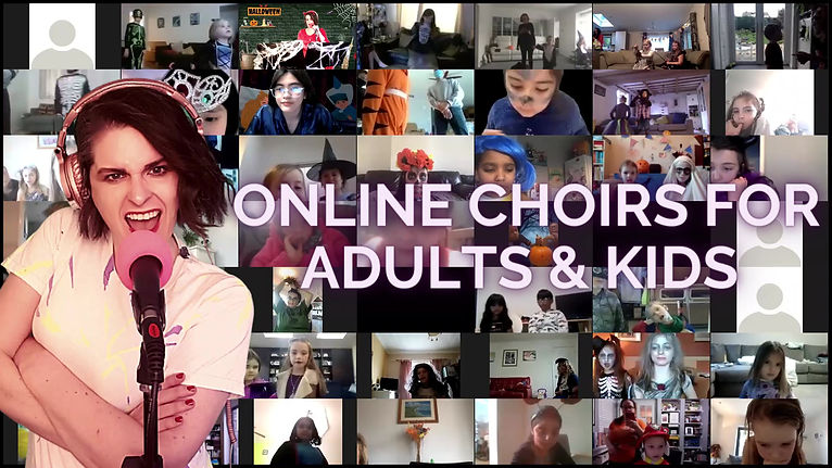 Vchoir - virtual online choir