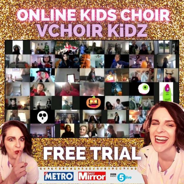 FREE Vchoir Kidz - Online Kids Choir