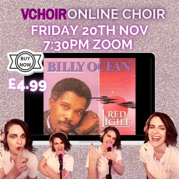 £4.99 Billy Ocean Fri 20th Nov