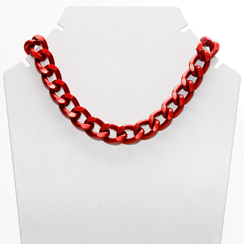 Colar Red Chain