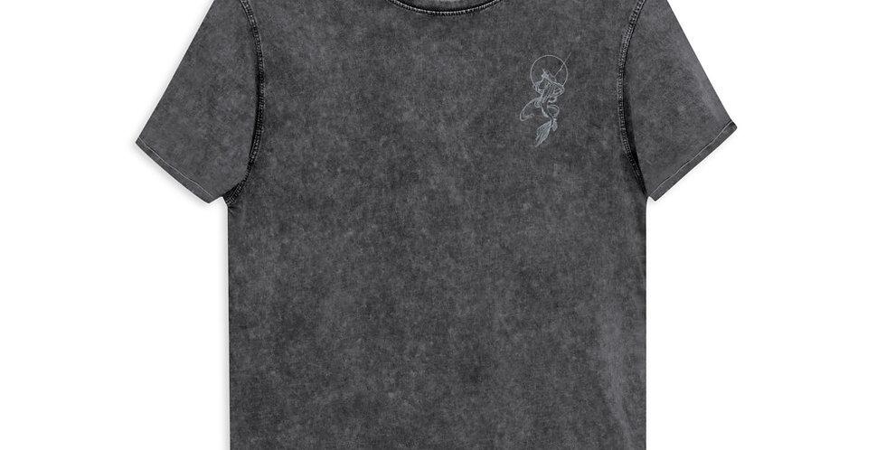mermaid acid wash T-Shirt