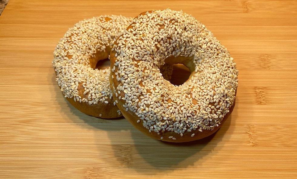 Sesame Seed Bagels - Qty. 4