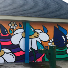 East End Park Mural (3/4)
