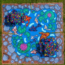 Koi Pond - Dix Park Murals (2/2)