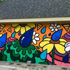 East End Park Mural (1/4)
