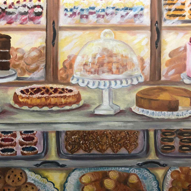 """Sweet Treats"" 16x20 Oil"