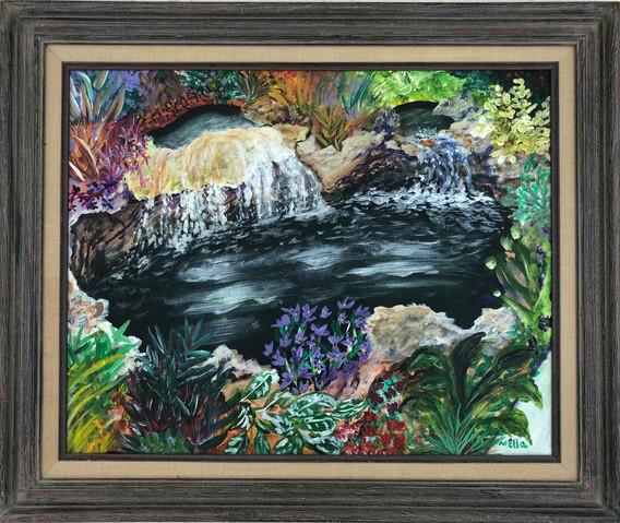 Waterfalls Reflections
