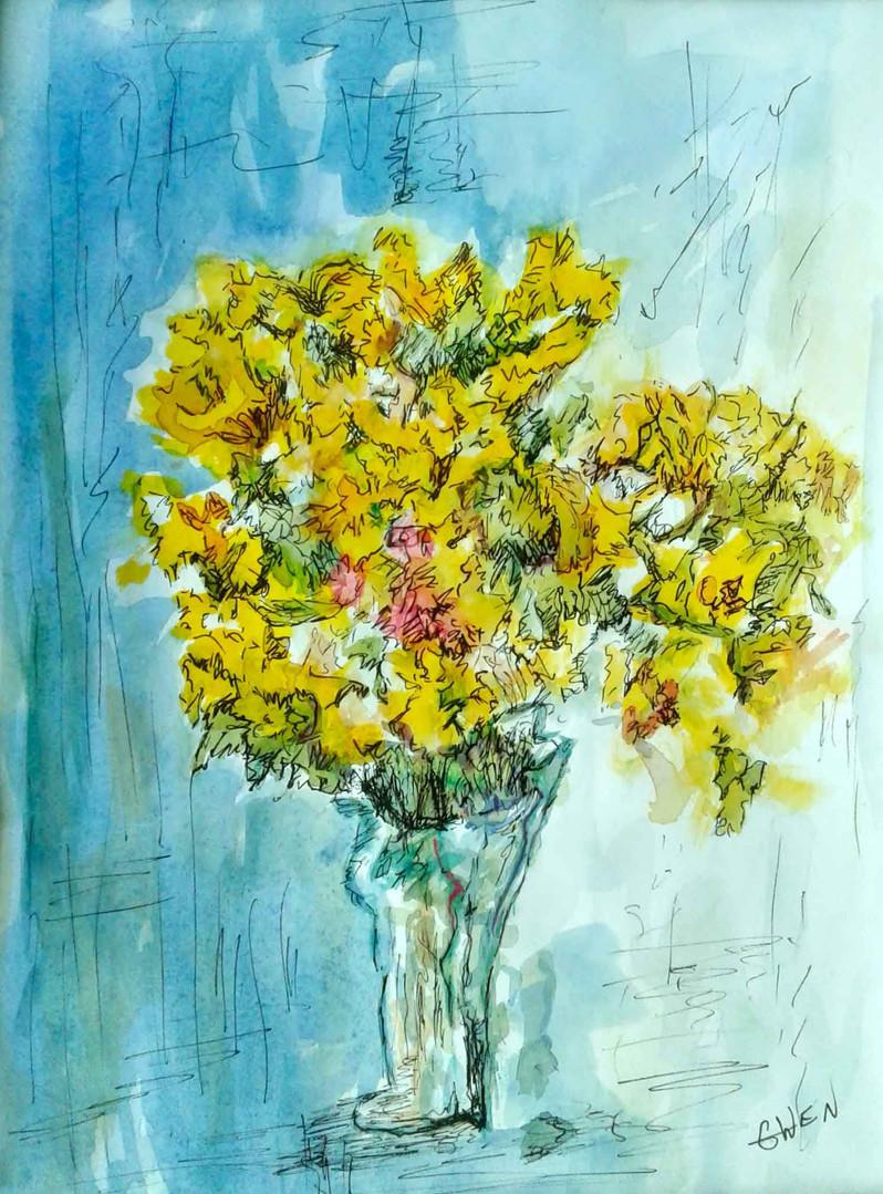 Cheerful Yellow 2