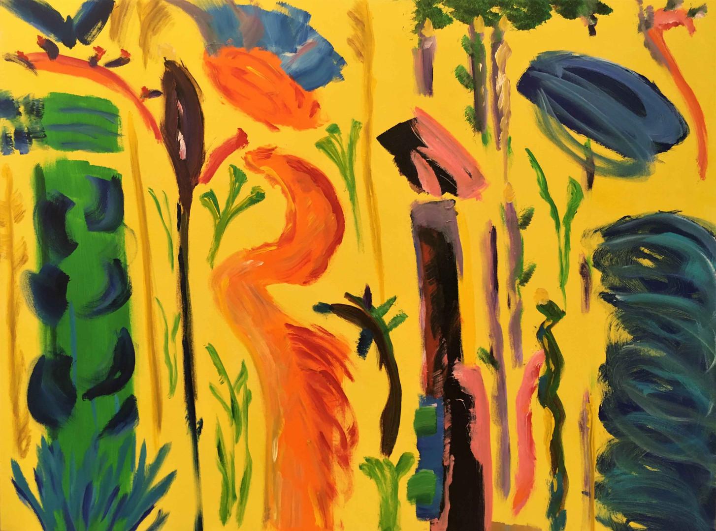 Les Demoiselles in the Jungle