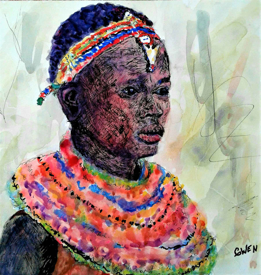 African Ark Woman