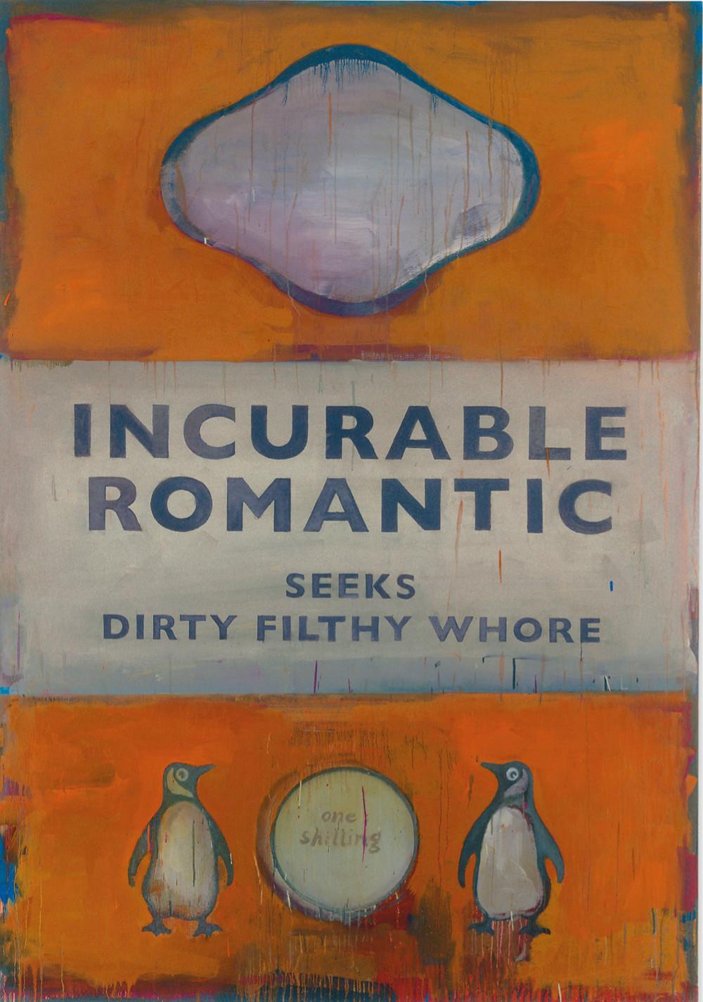Harland Miller Incurable Romantic George Michael The Fine Art Ledger Fine Art Blockchain