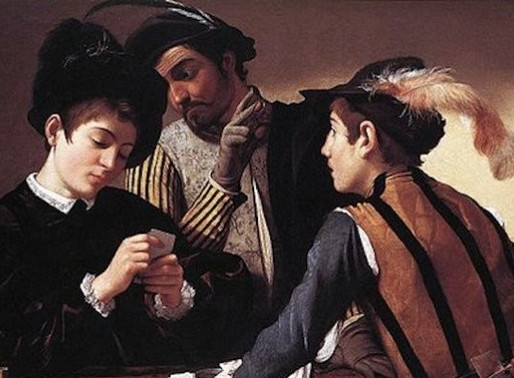 Caravaggio's 'Cardsharps', Lancelot and the Allegedly Not So Sharp Fine Art Experts**