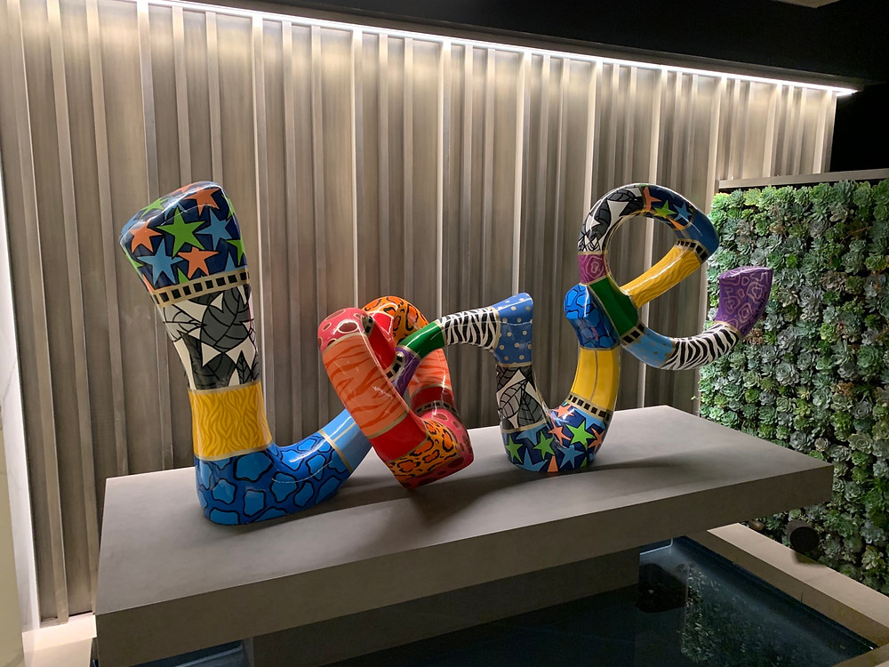 Dorit Levenstein Love Sculpture
