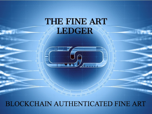 Welcome to the Fine Art Ledger!