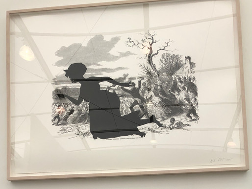 At the Untitled Art Fair, Miami Beach, Kara Walker Stands Out