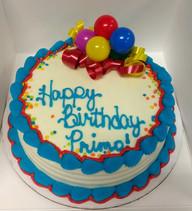 Balloon Smash Cake