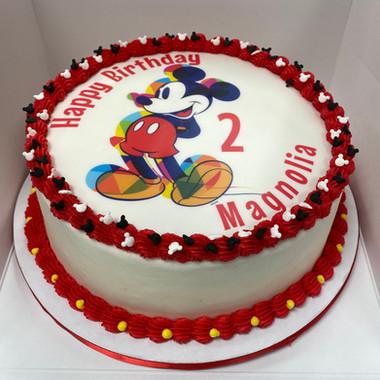 Mickey Mouse Edible Image