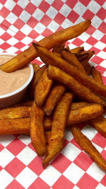 Sweet Fries w/ Marie's Sauce