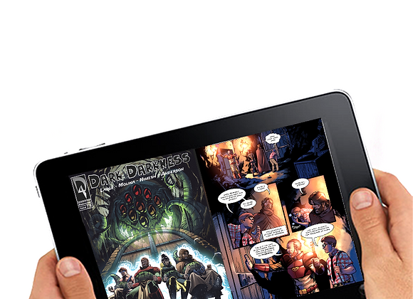 Dark Darkness DIGITAL comic book issue #3