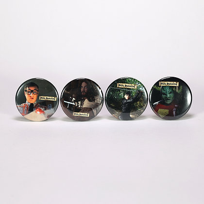 Dark Darkness Character pins- 4 pack