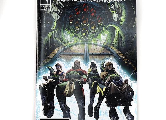 Dark Darkness comic book issue #3