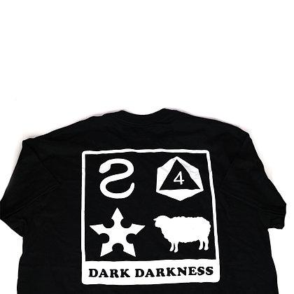 Dark Darkness T-shirt. (Early Logo)