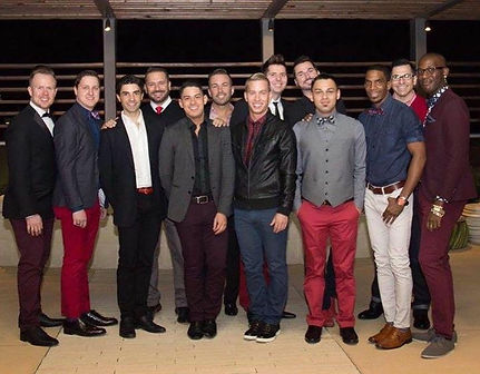 Dallas Red Foudation board members.