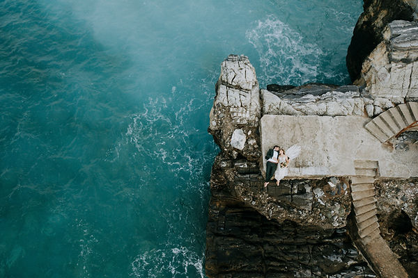 Wedding sea view