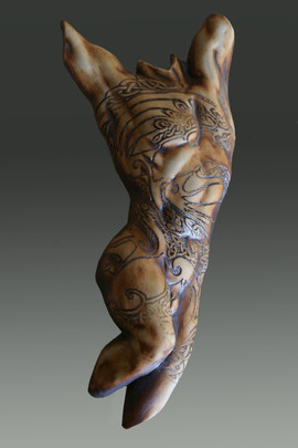 Small Celtic Male Torso